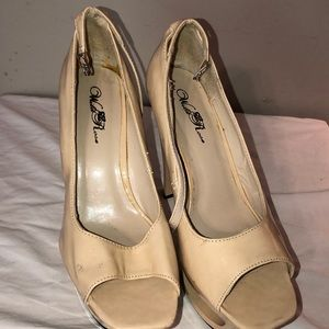tan heels 5 inch